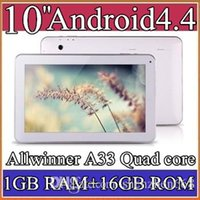 google android tablet - 2015 Google inch Quad core GHz Allwinner A33 Android tablet pc Capacitive GB GB Dual Camera Bluetooth USB OTG PB