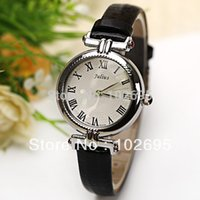 band view - new View Original Picture Julius fashion Quartz Watch Roman Numbers Hour Marks Leather Watch Band for Women Wristwatches