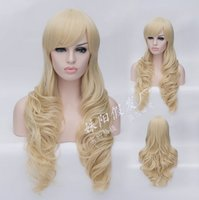Wholesale New Sexy Style Women s Cosplay Party Hair Wigs Color Long Curly Synthetic Heat Resistant Wig for Ladies