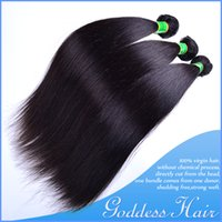 indian hair extensions - Brazilian Peruvian Malaysian Indian Virgin Human Hair Weft Weave Extensions Full Head Dyeable Unprocessed Hair straight hair Body Wave