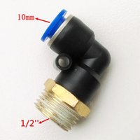 Wholesale 10pcs Pneumatic Fittings L type mm quot Pipe Fitting PL10