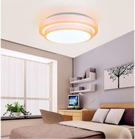 Wholesale Multicolor Led Ceiling Lamp W Led Ceiling Light Led Kitchen Lamp V Double Line Dia mm Cool White Warm White Red Blue Orange
