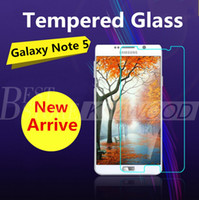 arc size - Samsung Galaxy Note Tempered Glass Screen Protectors MM H D Arc Explosion Proof Exact Size for Note5 Free DHL