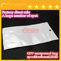 food - 12 cm Clear white pearl Plastic Poly OPP packing zipper Zip lock Retail Packages Jewelry food PVC plastic bag cm cm cm