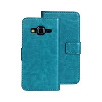 crazy horse leather - For Samsung Galaxy Express G3815 Crazy horse Mad Retro Wallet Leather pouch cases skin cover Stand holder credit card Fashion Protective