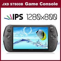 android game player - The Newest Android JXD S7800B S7800 game console RK3188 Quad core GB RAM GB ROM inch IPS game player tablet
