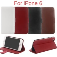 Cheap For Apple iPhone iphone6 casing Best Leather White iphone 6 case cover