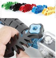 Wholesale New Hand Tighten Wrench Aluminum Go pro Mount Fish Bone Wrench Multi Color for SJ4000 Hero3 Camera Accessories
