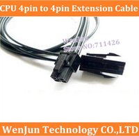 Wholesale 20 cm CPU power extension cable pin to pin CPU power supply line pin extension cord pin power supply cable order lt no track