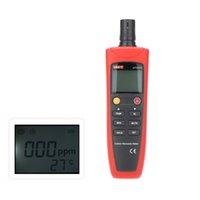 Wholesale Original UNI T UT337A High Accuracy Carbon Monoxide Meter Analizador de gases With Sound Light Alarm Gas Analyzer Meter order lt no track