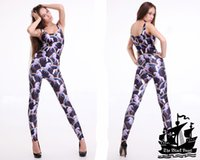 Cheap HOT 2013 SEXY Fashion ATTACK OF THE UNICORN Catsuit Teddy Overall Clothes Club Costume Jumpsuit For Women S126-23