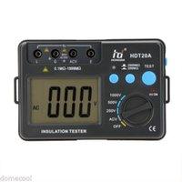 Wholesale 1000V Large LCD Display Digital Insulation Resistance Tester Resistance Tester