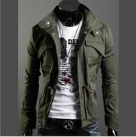 Wholesale new hot mens jackets cotton outwear men s coats casual fit style designer fashion jacket colors M XXXXL SUPERB