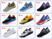 Wholesale 2015 New Kevin Durant KD Basketball Shoes Men KDs VII The Thor Mens Basketball Shoes Size