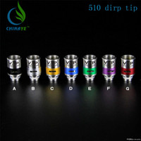 aluminum air - The caliber Air control VIP marked Colourful aluminum vape logo wide bore Stainless Steel drip tip
