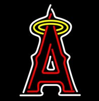 angeles bars - Letter A Shape Neon Sign American Baseball MLB Los Angeles Angels neon sign lighting Bar Disco KTV Motel Hotel Store Display quot X17 quot