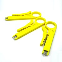 Wholesale 2015 New Arrival High Quality Yellow Cable Wire Stripper For Silicone Cables