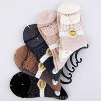 bamboo thickness - 2014 Izmir Bamboo Lace Dot Cute Soft Women Socks Medium thickness pairs per