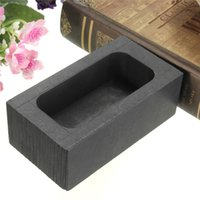 Wholesale 2015 Top Selling High Purity Graphite Crucible Casting Melting Ingot Mold G For Gold Silver