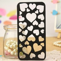 best hard candy - Best Sellers Cute candy Color Loving Heart Hard Phone Case Cover For iPhone S Only To USA Drop shipping