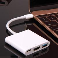 av usb ports - USB3 Type C to K HDMI USB C Digital AV Multiport Adapter K OTG USB Female port USB HUB Charger for Macbook quot