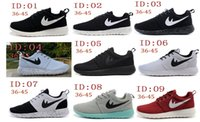 Wholesale 2015 Cheap Roshe run running shoes comfort London Olympic Rosherun Free Run breathable Barefoot Walking training sporting shoes sneakers