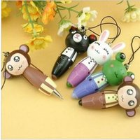 animal cell functions - Korean version of the new Japanese wind cartoon animal cell phone chain ballpoint pen LX