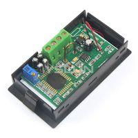 ac current monitor - AC DC8 V Amperemeter Four wires Current Monitor Meter AC A Blue LCD Display Digital Ammeter