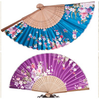 Wholesale Hand Made Vintage Mercery Bridal Fans Cheap Bamboo Trestle Painted Wedding Accessories In Stock Christmas Gifts Randomization Sunshade Fan