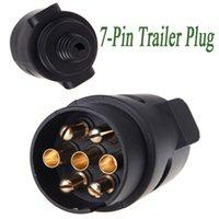 Wholesale Tirol Pin Trailer Plug Pole Wiring Connector V Towbar Towing Caravan Truck Plug N Type Trailer End Plastic