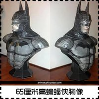 Wholesale Batman bust CM high paper model DIY handmade DIY puzzles toy