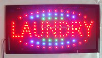 Wholesale hot sale led Laundry signs neon super brightly customized of laundry shop open led indoor