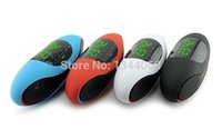 audio source speakers - the latest Rugby time and alarm clock speaker NFC TF USB radio AUX multifunctional external audio source digital audio
