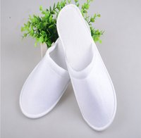 disposable slippers - Hot selling pairs one time slippers disposable shoe home slippers white sandals hotel babouche travel slippers travel shoes