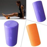 Wholesale New EVA Pilates Foam Roller Fitness Exercise Foam Roller Massage Physio Training Yoga Foam Roller