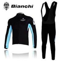 bianchi cycling - 2015 Professional ropa ciclismo black BIANCHI cycling jerseys setwinter Warm Fleece Thermal bicicleta mountain bike maillot bike clothing