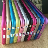 Wholesale New cheap For iphone Plus inch Metal Bumper Luxury Aluminum Alloy Protective Case Cover For iphone6