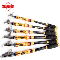 Cheap Fishing Fishing Rods SeaKnight New 99% Carbon 1.8M 2.1M 2.4M 2.7M 3.0M 3.6M Portable Telescopic Fishing Rod Carp Fish Sea Rod Fishing Tackle
