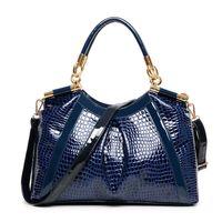 bag lady boutique - 2015 high end women handbag brand designer shoulder bag boutique ladies commute handbags crocodile Satchel bolso de bandolera