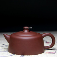 antique tea infusers - 2015Teapot Yixing purple clay kettle all handmade genuine ore antique pots ml