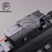 airsoft laser pointer - 2016 New Arrvial Tactical Red Laser Scope Sight Laser Pointer With Switch For Hunting Airsoft Gun