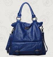 bags imitation - The new constellation female bag handbag washed imitation sheepskin handbags fashion female package