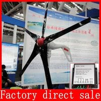 Wholesale Wind turbines Leaf blade Wind power generation V or V W Max W max wind controller CE