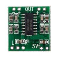 Wholesale Mini Digital DC V Amplifier Board Class D W USB Power PAM8403 Audio Module