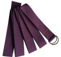 Cheap wholesale price Yoga belt Stretching Strap D-Ring Pilates Exercise Gym Belt 100 pcs lot