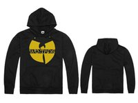 best tang - Plus size S M L XL XXL Wu Tang Clan man s best cotton gold wu tang logo printing classic design hoodie jackets