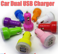 charger ipad mini - New Dual USB Car Universal adapter mini passthrough for ego charger electronic cigarette e cig cigarettes ipad iphone PDA smart Cell phone