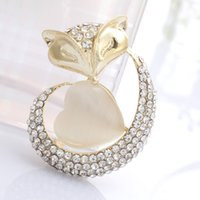 ad beautiful - high end clothing opal brooch brooch brooch beautiful fox ADS supply