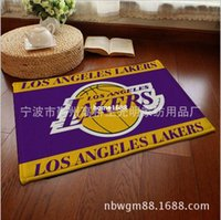 Wholesale Bedroom Mat Suede Front Door Carpet Decorative Floor Mats Entrance USA Basketball Rugs And Carpets For Living Room Kitchen Home