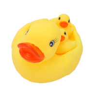 Cheap 2-4 Years baby a bath toy  Best Yellow PVC Water duck